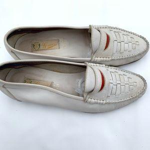 Gucci vintage 70's weave loader shoe size 43